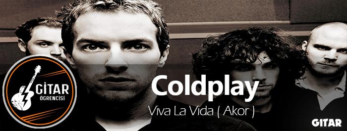 akor,gitar akor,Coldplay akor,Viva La Vida Gitar Akor,la vida akor