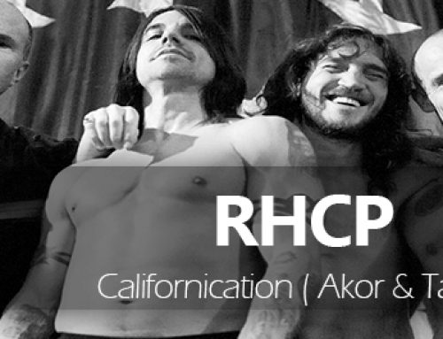 Red Hot Chili Peppers Californication Akor Tab